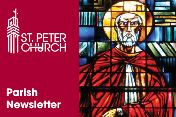 St. Peter Church Parish Newsletter Cover Images