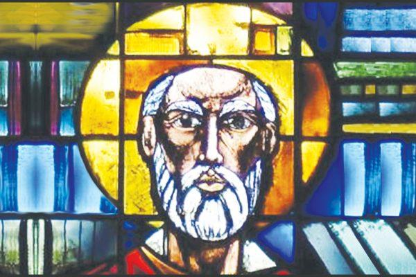 St. Peter Church Stained Glass Window